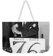 Connie Mack (1862-1956) Weekender Tote Bag