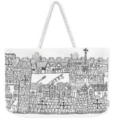 Constantinople, Procession At City Weekender Tote Bag