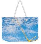 Construction Crane Weekender Tote Bag
