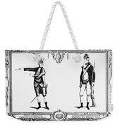 Continental Army Weekender Tote Bag