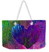 Contours Of The Heart Weekender Tote Bag