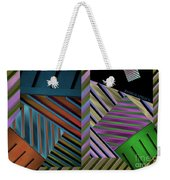 Conundrum Of Color Weekender Tote Bag by Robert Meanor