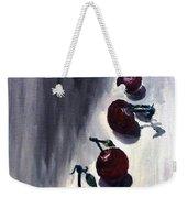 Conversation With Cherries  Weekender Tote Bag