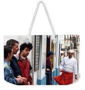 Cook And The Corner Boys Weekender Tote Bag by Lorraine Devon Wilke