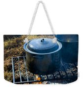 Cook Fire Weekender Tote Bag