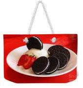 Cookies N Cream Weekender Tote Bag