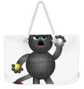 Cool Alley Cat Athlete Weekender Tote Bag