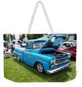 Cool Blues Classic Truck Weekender Tote Bag