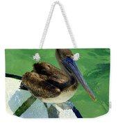 Cool Footed Pelican Weekender Tote Bag