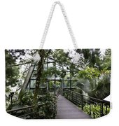 Cool House Inside The National Orchid Garden In Singapore Weekender Tote Bag