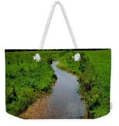 Cool Mountain Stream Weekender Tote Bag by Frozen in Time Fine Art Photography