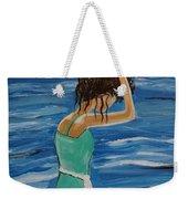 Cool Ocean Breeze Weekender Tote Bag