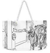 Coolidge Cartoon, 1925 Weekender Tote Bag