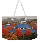 Coolidge Park Carousel Weekender Tote Bag by Tom and Pat Cory