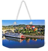 Coolidge Park During River Rocks Weekender Tote Bag