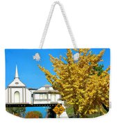 Cooper Young Trestle Looking North Weekender Tote Bag