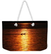 Coots In The Sunset Weekender Tote Bag