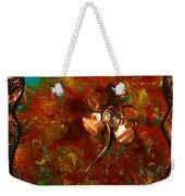 Copper Flower Weekender Tote Bag