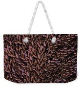 Copper Leaf Weekender Tote Bag