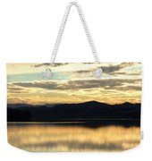 Copper Sky And Reflections Weekender Tote Bag