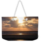 Copper Sunset Stroll Weekender Tote Bag