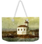 Coquille River Lighthouse Weekender Tote Bag