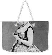 Cora Pearl (c1835-1886) Weekender Tote Bag