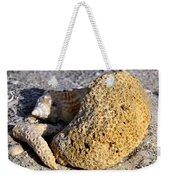Coral On Shore Weekender Tote Bag