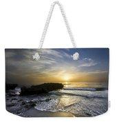 Coral Shoreline Weekender Tote Bag