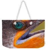 Cormorant Abstract Weekender Tote Bag