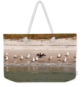 Cormorant Stands Out Weekender Tote Bag
