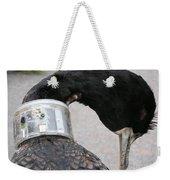 Cormorant With Radio Collar Weekender Tote Bag