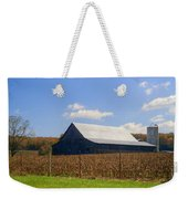 Corn Barn And Silo Weekender Tote Bag