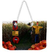 Corn Maze Weekender Tote Bag