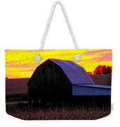 Cornfield Barn Sky Weekender Tote Bag