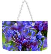 Cornflower Color Weekender Tote Bag