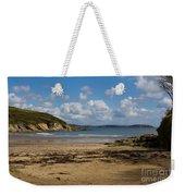 Cornish Seascape Maenporth Weekender Tote Bag
