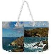 Cornwall North Coast Weekender Tote Bag by Brian Roscorla