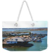 Corpus Christi Bay Towards Mustang Island Texas Weekender Tote Bag