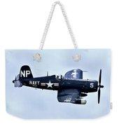 Corsair In Flight Weekender Tote Bag by Greg Fortier