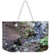 Corte Madera Creek On Mt Tamalpais Weekender Tote Bag