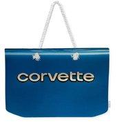 Corvette Badge Weekender Tote Bag