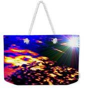 Cosmic Flare Weekender Tote Bag