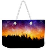 Cosmic Night Weekender Tote Bag
