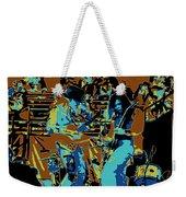 Cosmic Winter Blues 1975 Weekender Tote Bag