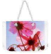 Cosmos Flowers Weekender Tote Bag