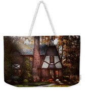 Cottage - Westfield Nj - A Place To Retire Weekender Tote Bag by Mike Savad