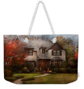 Cottage - Westfield Nj - The Country Life Weekender Tote Bag by Mike Savad