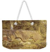 Cottage At Farringford Isle Of Wight Weekender Tote Bag