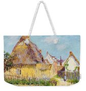 Cottage At Le Vaudreuil Weekender Tote Bag by Gustave Loiseau